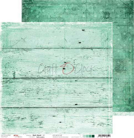 Craft o´clock paperi Mint Mood #2 30,5x30,5cm