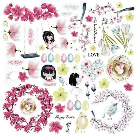 13@rts paperi Pastel Spring - Happy Time 30,5x30,5cm