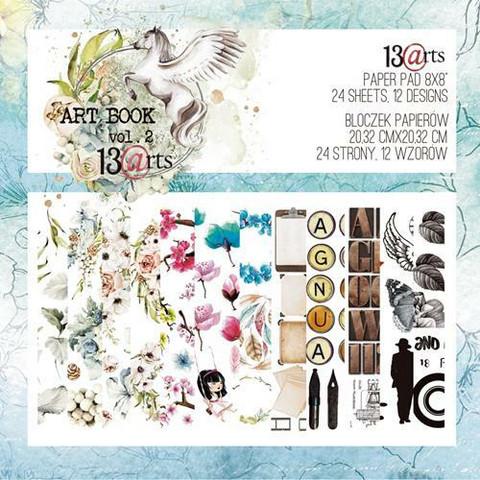 13Arts paperikko Art Book Vol. 2 8x8