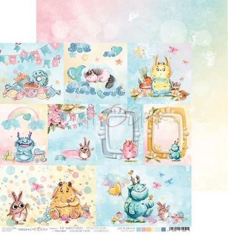 Craft O´Clock The Sweetsters korttikuvat 30,5x30,5cm