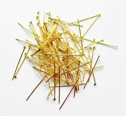 Korupiikit naulapäällä kulta 30mm 100kpl
