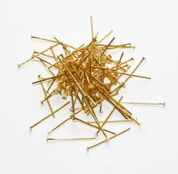 Korupiikit naulapäällä kulta 24mm 100kpl