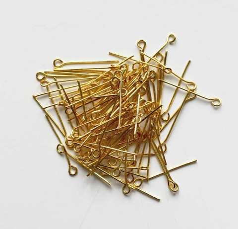 Korupiikit lenkkipäällä kulta 24mm 100kpl