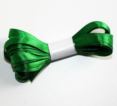 Satiininauha vihreä 6mm 5metriä