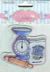 Dovecraft kirkas leimasin Cupcake Boutique - Baking