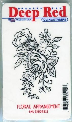 Deep red leimasin Floral Arrangement