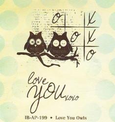 Unity Stamps leimasimet Love You Owls