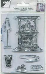 Joy Crafts kirkas leimasinsetti Home Sweet Home