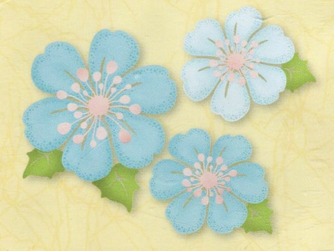 Leane Creatief kirkkaat leimasimet Blossom