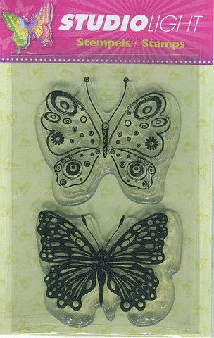 Studiolight kirkkaat leimasimet perhoset