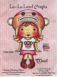 La-La Land Craftsin ez-mountattu leimasin Cheeky Monkey Marci