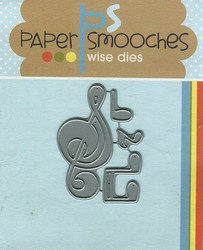 Paper Smooches stanssit Music Notes