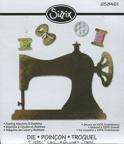 Sizzix sizzlits stanssi Sewing Machine & Bobbins