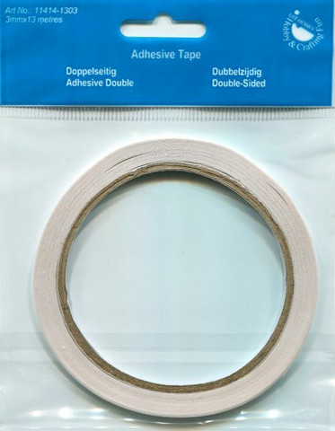 H&CF kaksipuoleinen teippi 3mm/13m