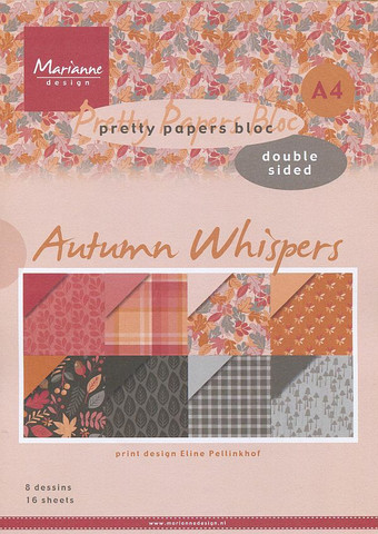 Marianne Design paperikko Autumn Whispers a4