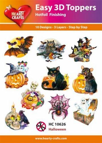 Hearty Crafts stanssatut 3d-kuvat Halloween