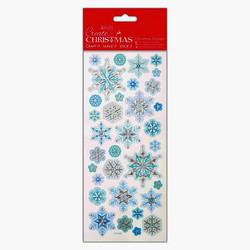 Tarrat Create Christmas - embossed snowflakes