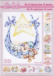 Lesuh 3d-kirja vauvat a5