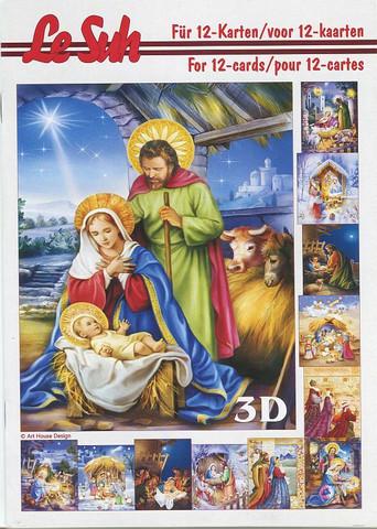 Lesuh 3d-kirja jouluseimi a5
