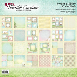 Heartfelt Creations paperilehtiö Sweet Lullaby 12x12