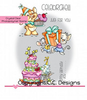 C.C Designs leimasinsetti Celebrate