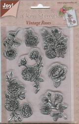 Joy Craft leimasinsetti Vintage roses