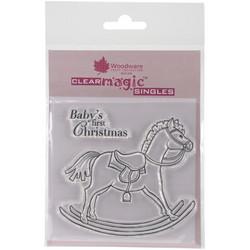 Woodware leimasinsetti Rocking horse
