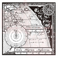 Woodware leimasin Map & Compass