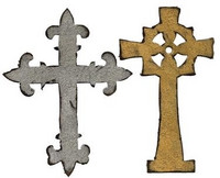 Sizzix Bigz stanssi Ornate Crosses ristit
