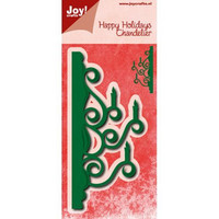 Joy Craft stanssit Happy Holidays Chandelier
