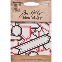 Tim Holtz tarrat Index Labels