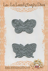 La-la land crafts perhosstanssit Butterflies set
