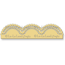 La-la land crafts boordistanssi Scallop Border