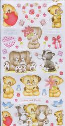 Daisy & Dandelion Tarrat Lovingly yours 2kpl