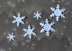 Nellie Snellen kuvioleikkuri + kohokuvioija lumihiutale medium