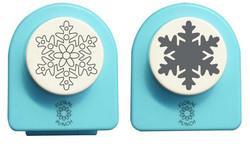 Nellie Snellen kuvioleikkuri + kohokuvioija lumihiutale large
