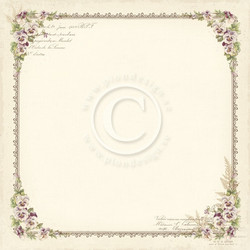 Pion Design paperi My Precious Daughter Pansy 12x12