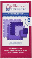 Spellbinders stanssit Classic Scalloped Squares Large