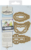 Spellbinders stanssit Fancy Framed Tags Three