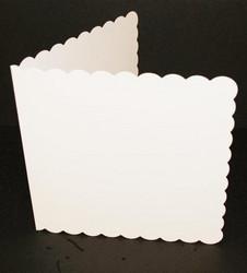 Craft UK Piparireunaiset neliökorttipohjat + kuoret 5x5
