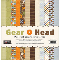 The paper loft paperikko Gear Head 12x12