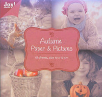 Joy Craft korttikuvakirjanen Autumn 10x10 18kpl