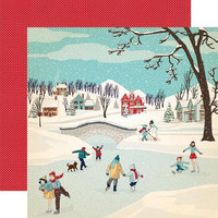 Carta bella collecktion kit paperisetti Snow Fun 12x12
