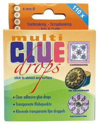 Jeje Multi glue drops liimapisarat 4mm/110kpl