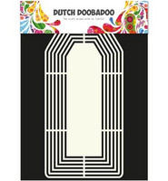 Dutch Doobadoo sabluuna Shape Art Tag XL