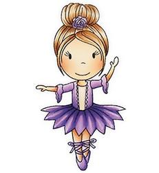 Paper Nest Dolls leimasin Ballerina