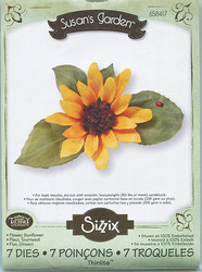 Sizzix thinlits stanssisetti sunflower