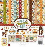 Echo Park collecktion kit paperisetti Fall is in the Air 12x12