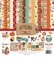 Echo Park collecktion kit paperisetti Celebrate Autumn 12x12