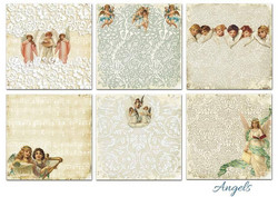 Decorer paperikko Angels 8x8